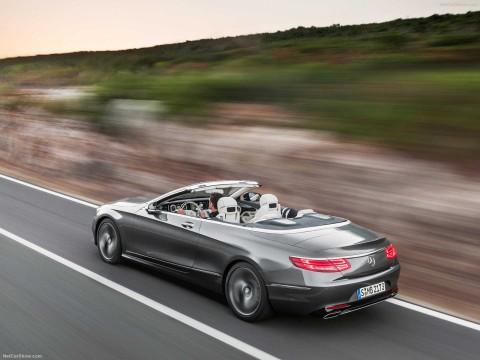 Mercedes benz S klasse cabrio