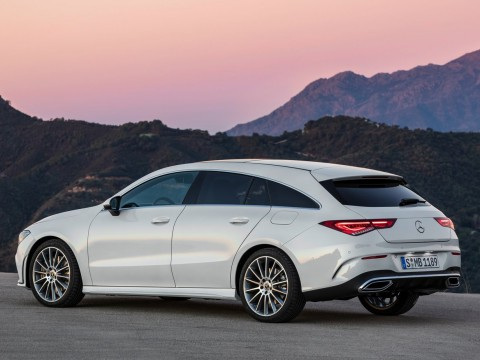 Mercedes benz Cla klasse shooting brake